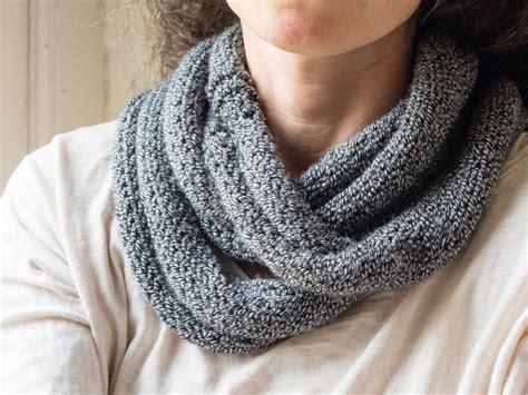 how to knit a snood saga