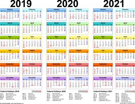 97 two year calendar template download free calendar templates