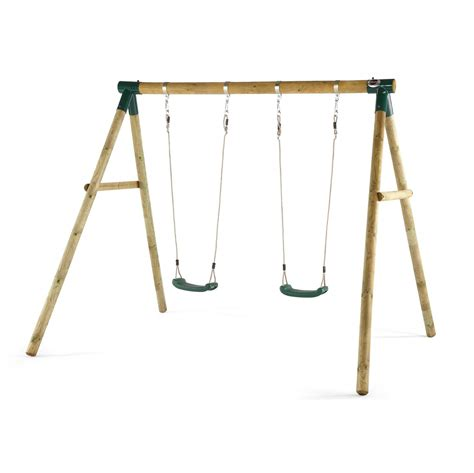swing this marmoset wooden swing set wooden round pole swing sets