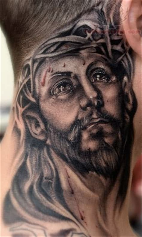 jesus head tattoo designs jesus tattoos page 5