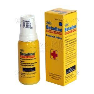 Harga Betadine jual beli betadine sol 15ml k24klik