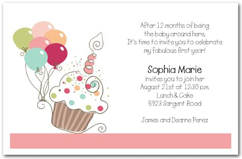 birthday invitations s cupcake balloons birthday invitation cupcake