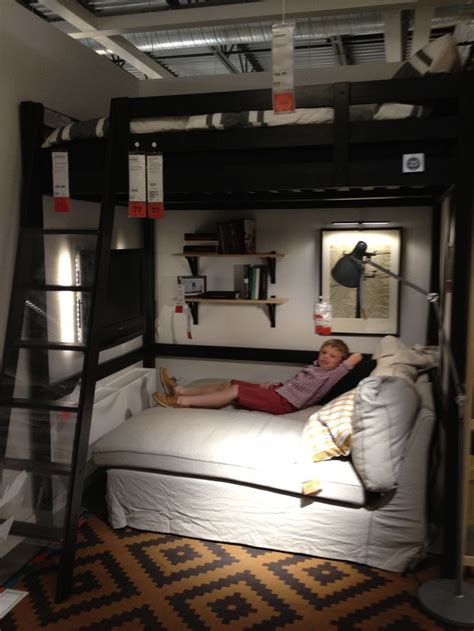 bedroom ideas gorgeous ikea loft bed design ideas