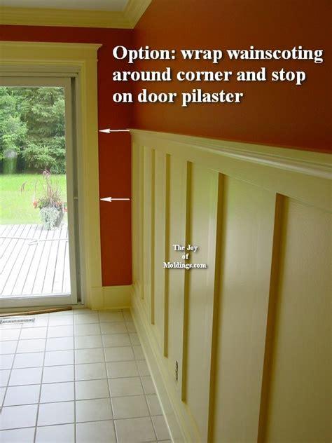 Installing Mdf Wainscoting Wainscoting Door Woohooie Our New Trim Reveal