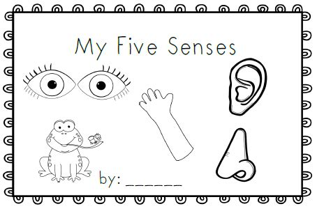 coloring pages five senses preschool five senses coloring pages preschool 23072