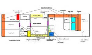 rv conversion floor plans floor plan bus conversion ideas pinterest