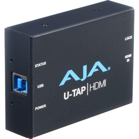Aja U Tap Hdmi aja u tap usb 3 0 powered hdmi capture device u tap hdmi b h