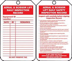 Aerial Lift Safety Aerial Lift Safety Program Template
