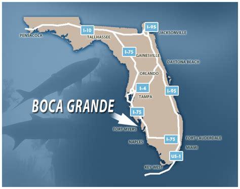 boca grande florida map getting here gulf coast charter brokers
