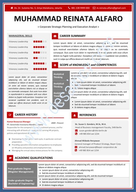 form cv yang menarik desain cv kreatif contoh surat lamaran kerja