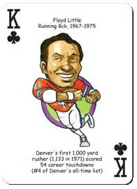 mark jackson playing card football playing cards for denver broncos fans parody