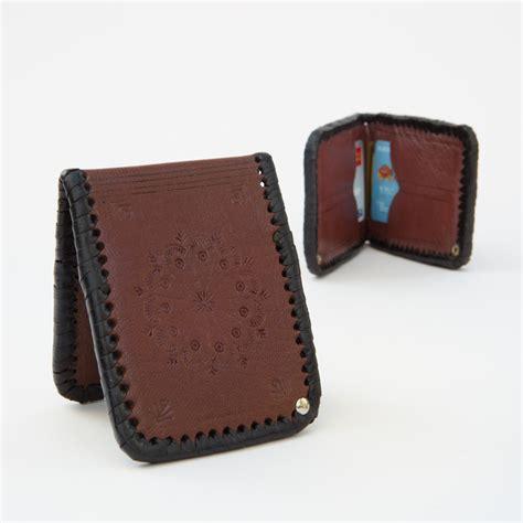 Handmade Western Leather Wallets - western handmade wallet four winds west