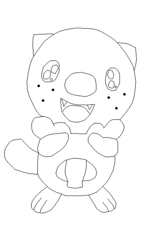 coloring pages of pokemon oshawott pokemon oshawott base 7 by awesome base on deviantart