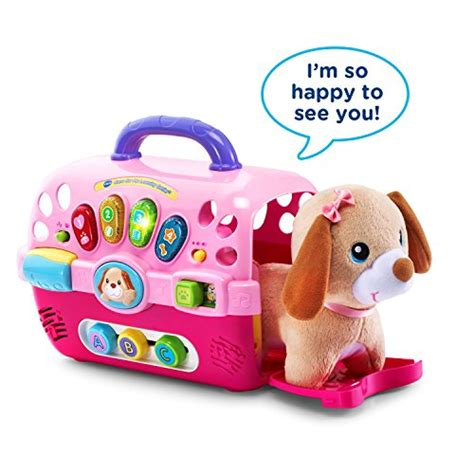 vtech puppy carrier vtech care for me learning puppy carrier best educational infant toys stores singapore
