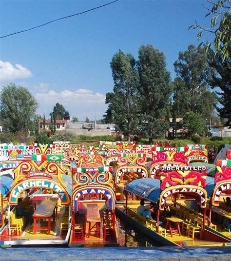 jardin xochimilco mexico le d 233 cor multiple et vari 233 des jardins flottants