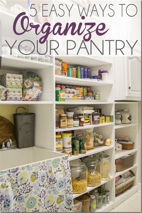 6 six tips to organize your pantry 1501 best images about unskinny boppy from the blog on