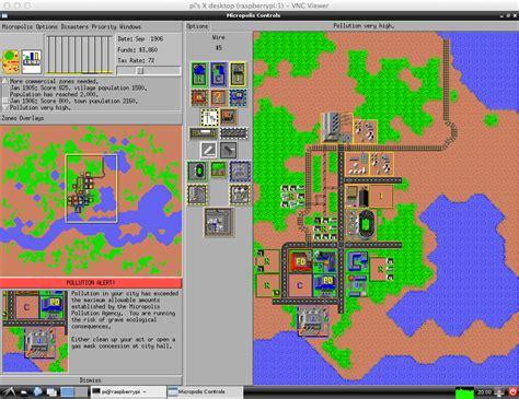 Raspberry Pi   Sim City   Developer Blog
