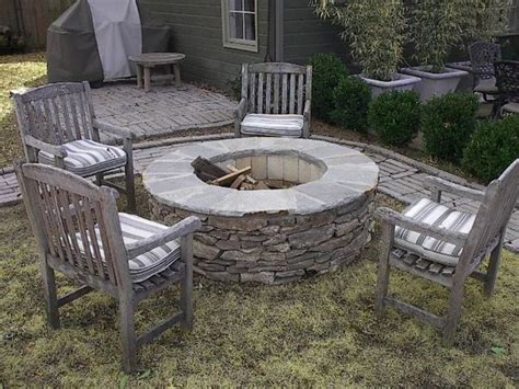 Natural Stone Fire Pit Kit For The Home Pinterest Outdoor Firepit Kit
