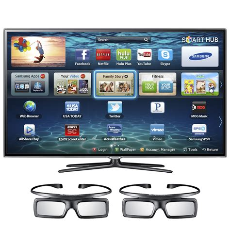 samsung es6220 40 3d tv 4pcs 3d glass free more clickbd