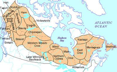 canadian map of indian tribes sub arctic tribes aaa arts