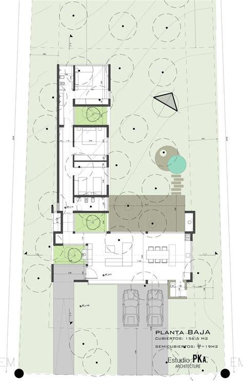 Plans De Maisons Contemporaines 2498 by дом интроверт в аргентине Plans De Maison Maison En Kit