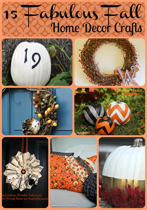15 fabulous fall home decor crafts tobethode