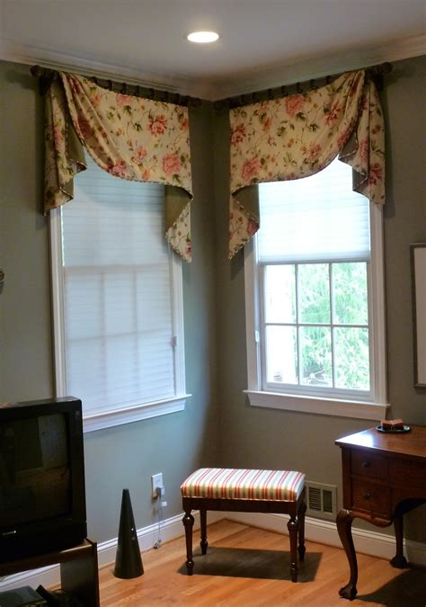 Curtains Corner Windows Ideas Youngblood Interiors Corner Window Treatments For The Master Bedroom