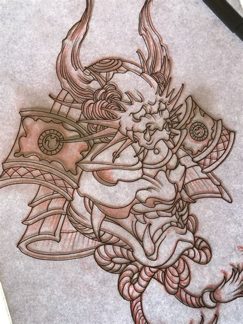 japanese samurai mask tattoo designs samurai mask drawing at getdrawings free for