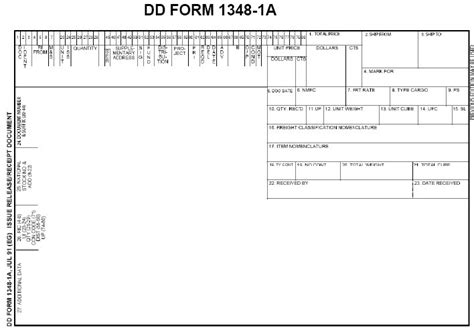dd form 1a template turn in procedures 6th bde jrotc supply