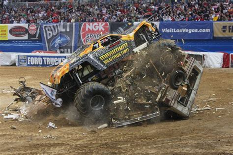 monster trucks crashing videos monster truck backgrounds wallpaper cave