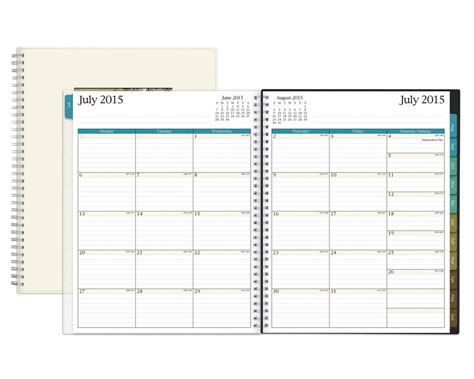 printable monthly calendar 5 5 x 8 5 6 best images of 8 x 11 printable 2016 calendar planner