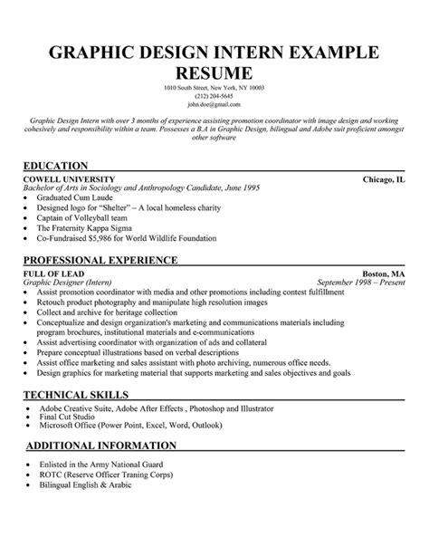 Mft Resume Sample by Student Internship Resume Sample Free Resumes Tips