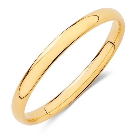 Wedding Bands Yellow Gold by Wedding Band In 18kt Yellow Gold