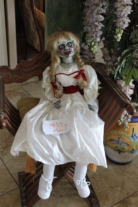 annabelle doll ghost hunters the conjuring annabelle by lilitecreation on etsy 840 00