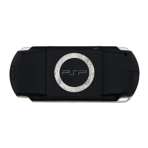 playstation portable console playstation portable 1000 black console pre owned the