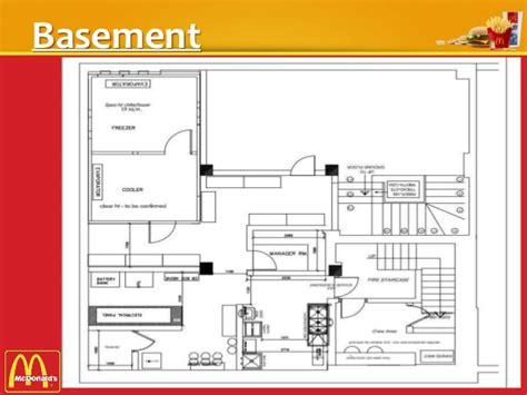layout mcdonalds kitchen restaurant case study