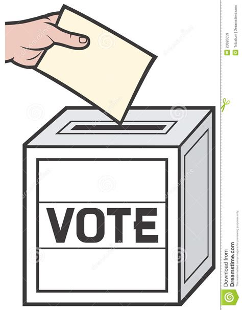 ballot box royalty free stock images image 23626059