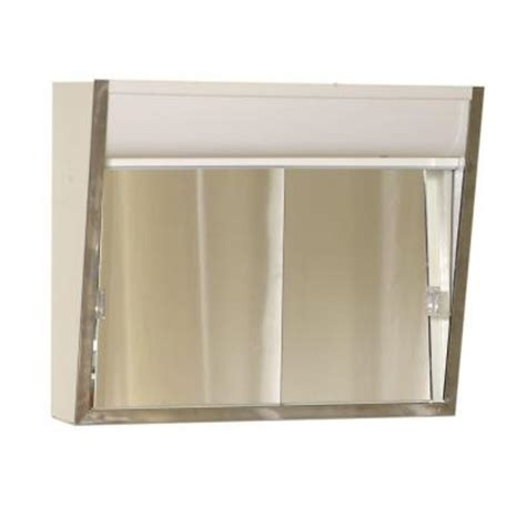 zenith premium lighted sliding door 24 in x 20 in