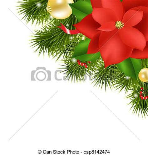 imagenes de navidad o nochebuena vecteur eps de composition no 235 l poinsettia rouges