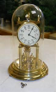 clock made of clocks anniversary clock 1952 kundo brass west by obrienwhatnotshoppe