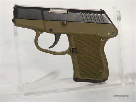 Kel-Tec .380Acp With Olive green frame,