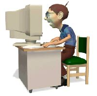 imagenes gif niños estudiando gif trabajando con el ordenador gifs e im 225 genes animadas