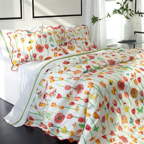 bright floral bedding oldlock double bed duvet