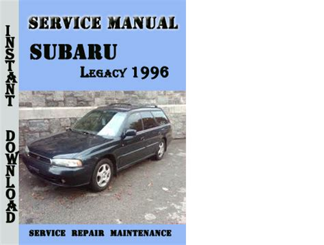 service repair manual free download 1991 subaru legacy electronic throttle control subaru legacy 1996 service repair manual pdf download download ma