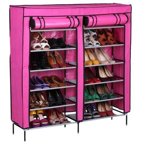 Armoire Pas Cher 118 by Meuble 224 Chaussures Couleur Dim 118 X 110 X 30 Cm