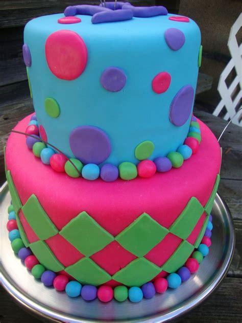 cool birthday cake   cake    year  girls birthday party  top cake