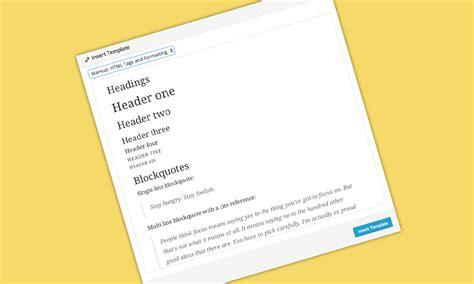 guarda dove vai testo creare template nel editor di testo di