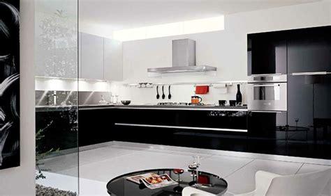 cuisine blanc et noyer une cuisine en noir et blanc inspiration cuisine