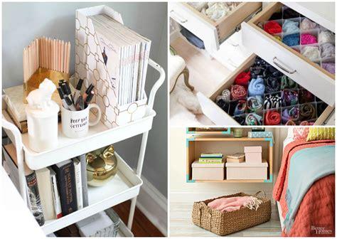 super efficient ways  organize  small bedroom