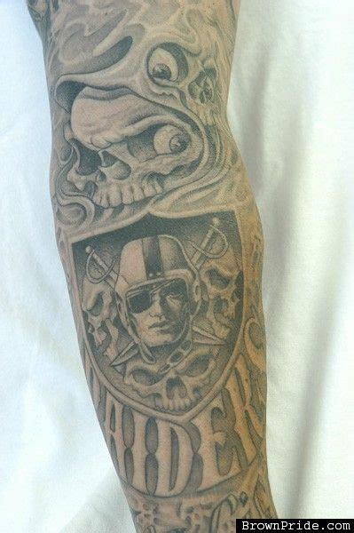raiders tattoo oakland raiders tattoos images search raiders